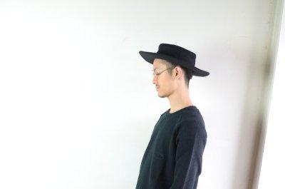 画像2: COMESANDGOES (カムズアンドゴーズ) MELTON-JEWISH HAT  [2-colors]