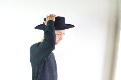 画像1: COMESANDGOES (カムズアンドゴーズ) MELTON-JEWISH HAT  [2-colors]
