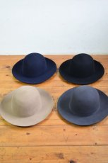 "画像1: COMESANDGOES (カムズアンドゴーズ) 8cm BOYSCOUTS BOWLER HAT ""PLAIN""  [4-colors] (1)"