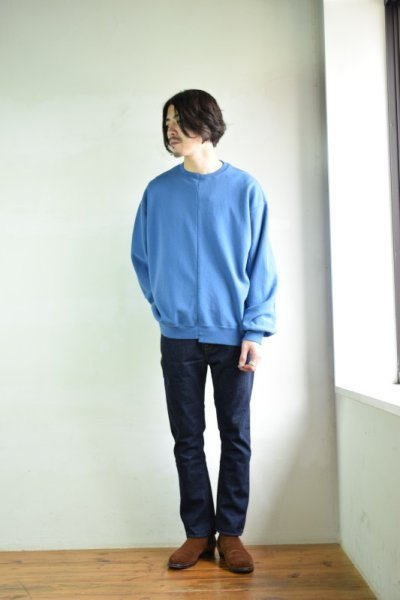 画像3: 【MORE SALE】bukht (ブフト) BOOTS CUT DENIM PANTS [INDIGO]