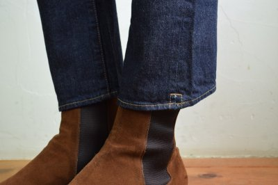 画像2: 【MORE SALE】bukht (ブフト) BOOTS CUT DENIM PANTS [INDIGO]