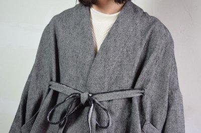 画像2: 【MORE SALE】brusco,k (ブルスコ , ケー) over coat [black]