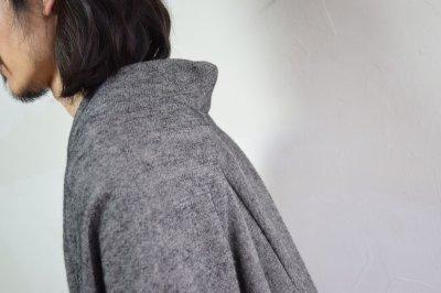 画像1: 【MORE SALE】brusco,k (ブルスコ , ケー) over coat [black]