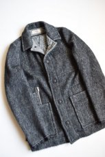画像7: 【MORE SALE】MAISON FLANEUR / Knited Mohair Jacket [BLACK] (7)