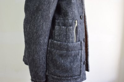画像2: 【MORE SALE】MAISON FLANEUR / Knited Mohair Jacket [BLACK]