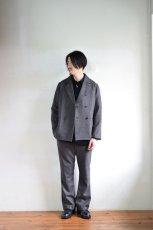 身長176cm、体重60kgの体型でサイズ2の着用例