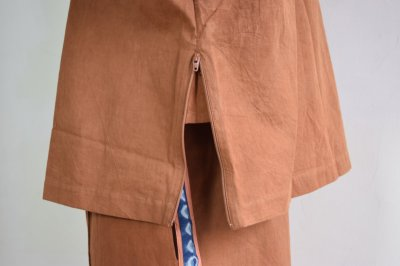画像1: 【MORE SALE】STORY mfg / Reefer Top [Bark Brown]
