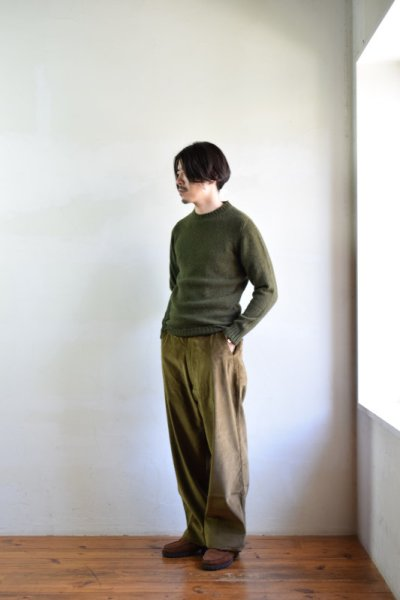 画像1: E.TAUTZ / CORE SHETLAND JUMPER [2-colors]