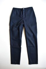 画像5: 【MORE SALE】DE BONNE FACTURE / DRAWSTRING TROUSERS [NAVY] (5)