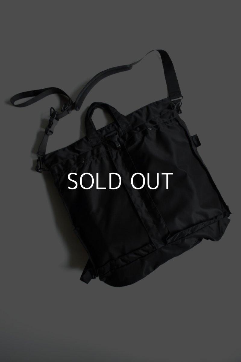 画像1: bagjack (バッグジャック) 3way helmet bag - NIPO - [black] (1)