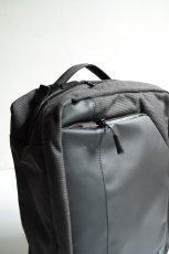 画像10: bagjack (バッグジャック) 3way traveller S OC - PUC×cordura nylon - [grid gray] (10)