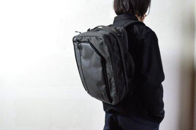 画像2: bagjack (バッグジャック) 3way traveller S OC - PUC×cordura nylon - [grid gray]