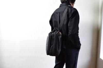 画像1: bagjack (バッグジャック) 3way traveller S OC - PUC×cordura nylon - [grid gray]