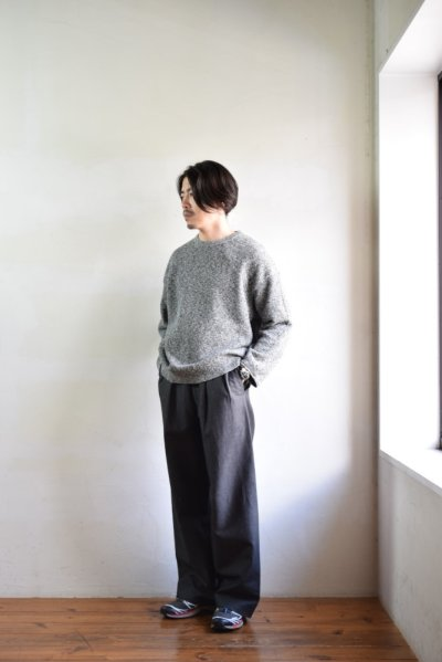 画像1: crepuscule (クレプスキュール) MULTICOLOR KANOKO P/O [D.Gray]