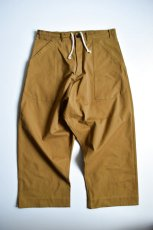 画像5: 【MORE SALE】O-PROJECT (オー プロジェクト) WIDE FIT TROUSERS [MUSTARD] (5)