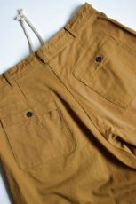 画像8: 【MORE SALE】O-PROJECT (オー プロジェクト) WIDE FIT TROUSERS [MUSTARD] (8)