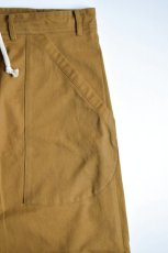 画像7: 【MORE SALE】O-PROJECT (オー プロジェクト) WIDE FIT TROUSERS [MUSTARD] (7)