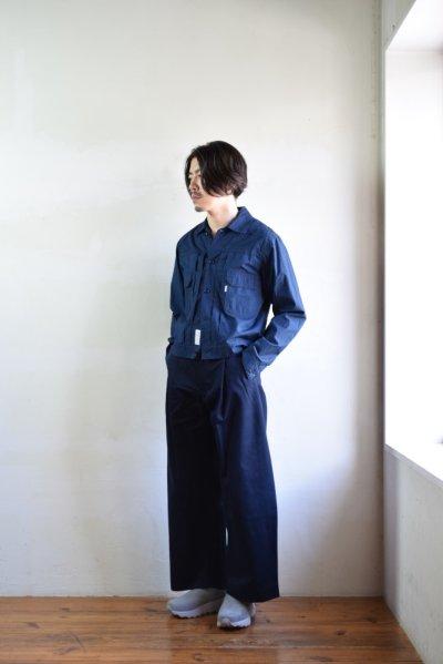 画像1: 【SALE】S H (エスエイチ) SH-LVND-001 [NAVY]