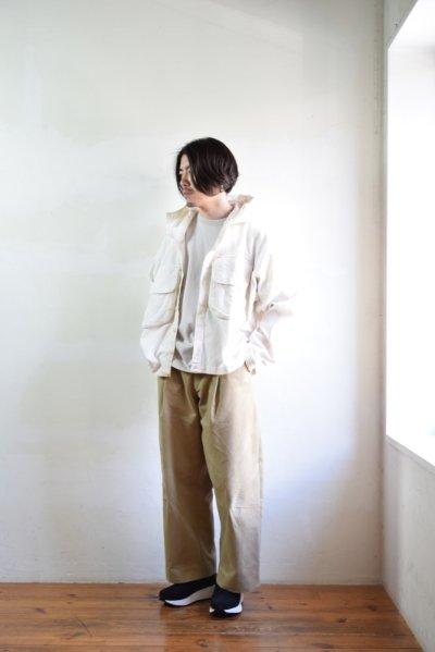 画像1: 【MORE SALE】STORY mfg / Forager Jacket [Sunbleached Ecru]