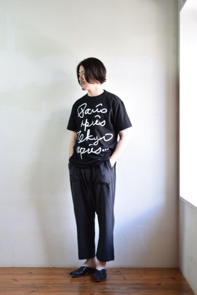 画像2: 【MORE SALE】m's braque (エムズ ブラック) PRINT T-SHIRTS [2-colors]