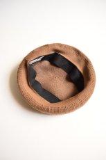画像3: COMESANDGOES (カムズアンドゴーズ) COTTON CASHMERE MESH BERET no.16606 [3-colors] (3)