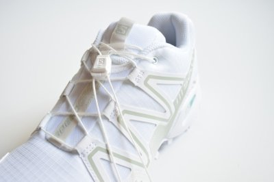 画像2: SALOMON ADVANCED (サロモン アドヴァンスド) SPEEDCROSS 3 ADV [WHITE/WHITE/MINERAL GRAY]