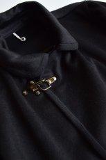 画像3: 【SALE】m's braque (エムズ ブラック) FIREMAN COAT [BLACK×D.NAVY] (3)