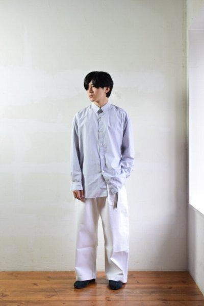 画像2: STUDIO NICHOLSON (スタジオニコルソン) SELVEDGE DENIM PANT [OPTIC WHITE]