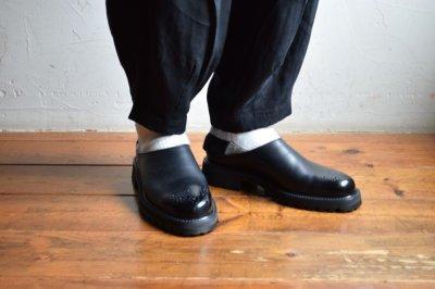 画像1: hender scheme (エンダースキーマ) commando mule [black]