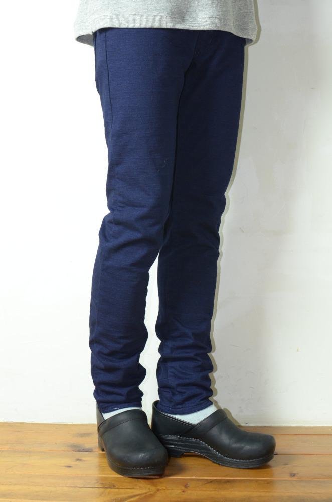 画像1: AUGUSTE-PRESENTATION (オーギュストプレゼンテーション) 5PK SLIM STRAIGHT PANTS S/S  [INDIGO] (1)
