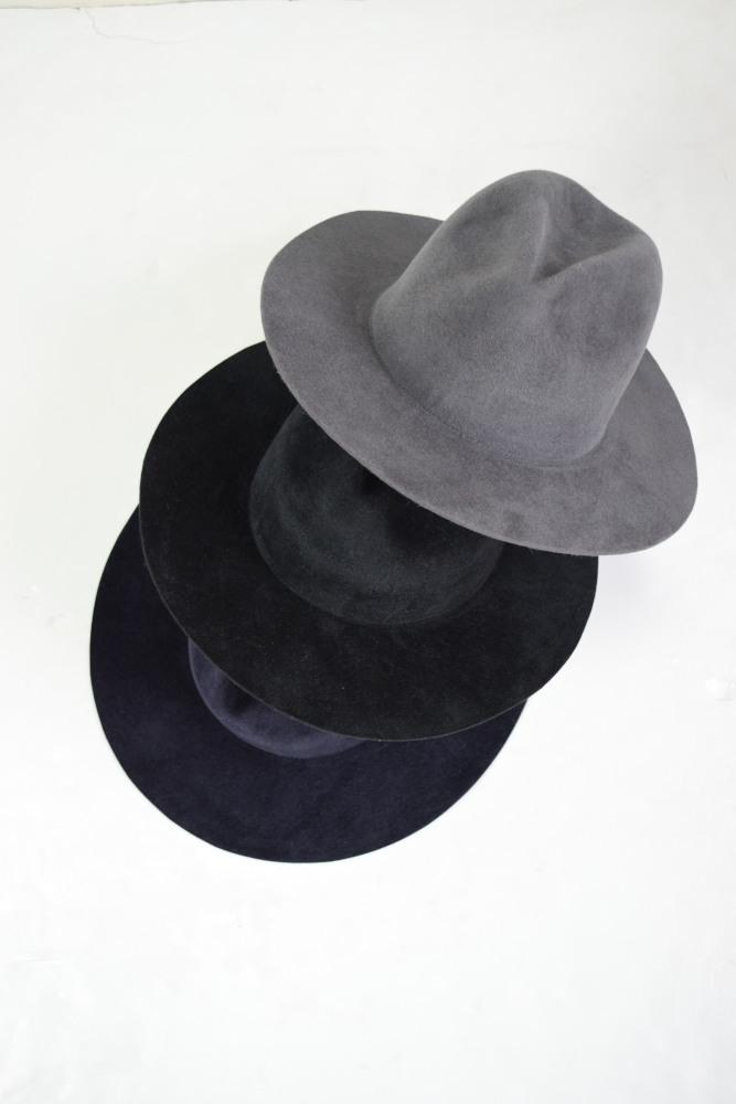 画像1: 【SALE】UNUSED (アンユーズド) RABBIT FUR HAT [3-colors] (1)