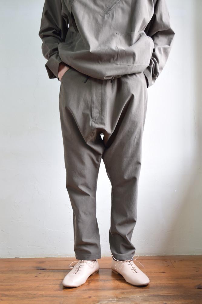 sale whowhat フーワット slide pants olive