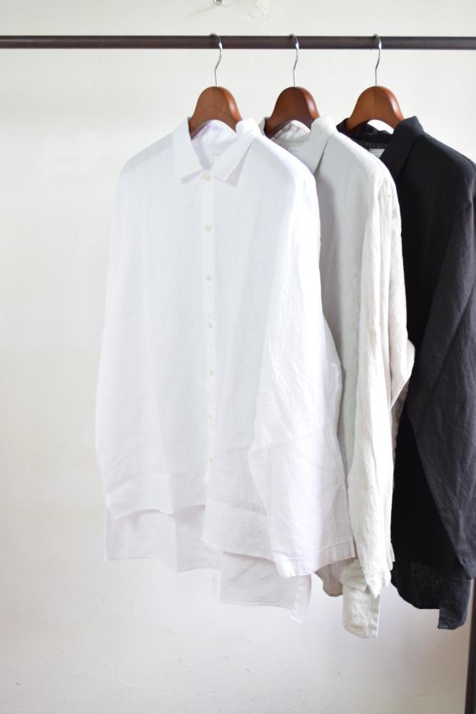 画像1: AUGUSTE-PRESENTATION(オーギュストプレゼンテーション) Pajama Look  REGULAR COLLAR L/S [3-colors]  (1)