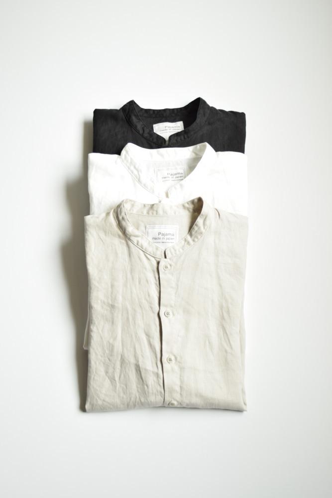 画像1: AUGUSTE-PRESENTATION(オーギュストプレゼンテーション) Pajama Look  STAND COLLAR L/S [3-colors]  (1)