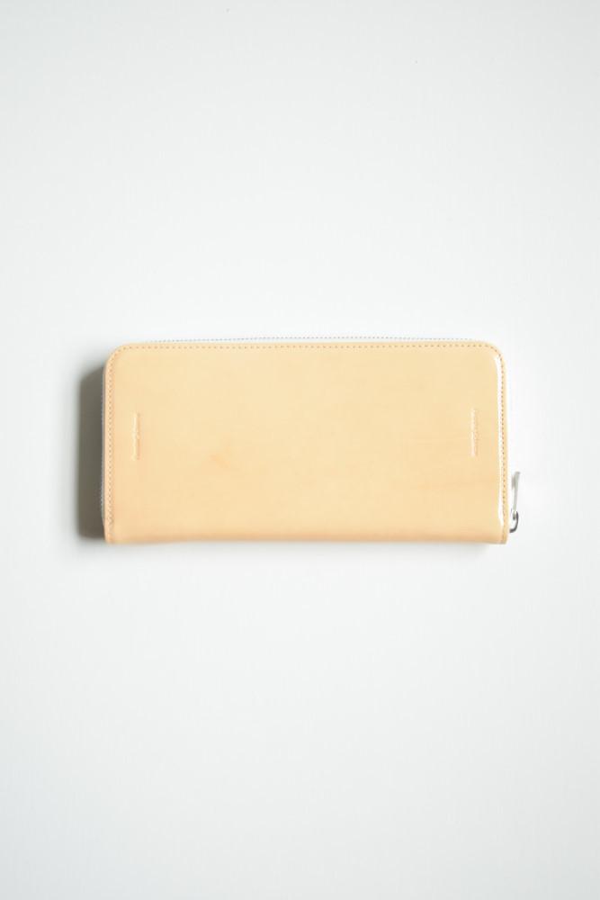 画像1: Hender Scheme (エンダースキーマ) long zip purse [patent natural] (1)