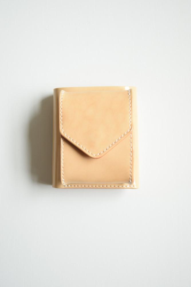 画像1: Hender Scheme (エンダースキーマ) trifold wallet [patent natural] (1)