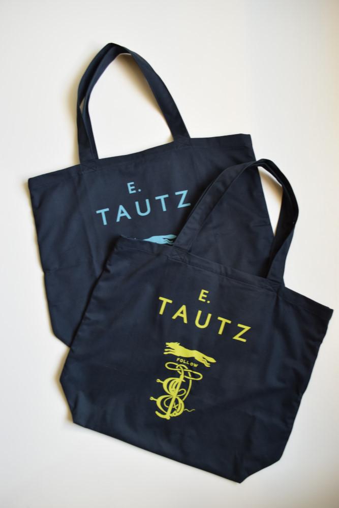 画像1: 【MORE SALE】E.TAUTZ / CORE TOTE BAG [2-COLORS] (1)