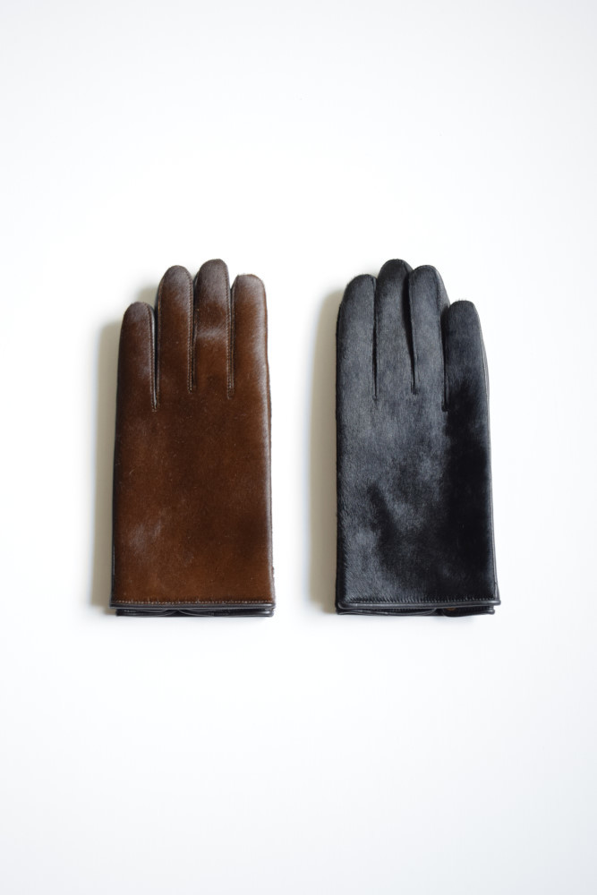 画像1: 【MORE SALE】Sasquatchfabrix.(サスクワッチファブリックス) LEATHER GLOVE [2-colors] (1)