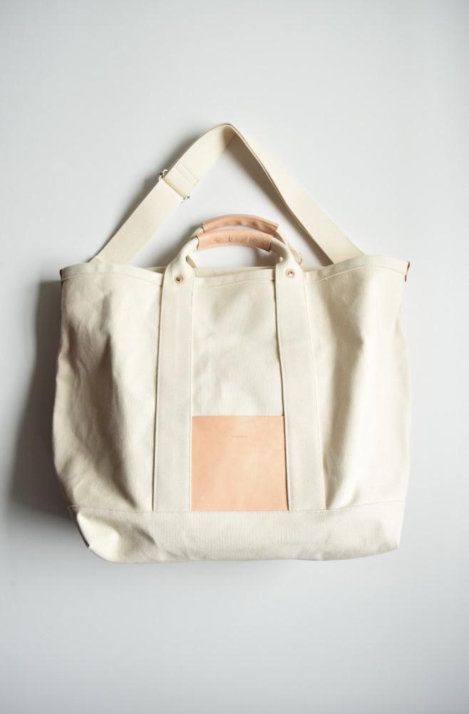 画像1: Hender Scheme (エンダースキーマ)  campus bag big  [natural] (1)