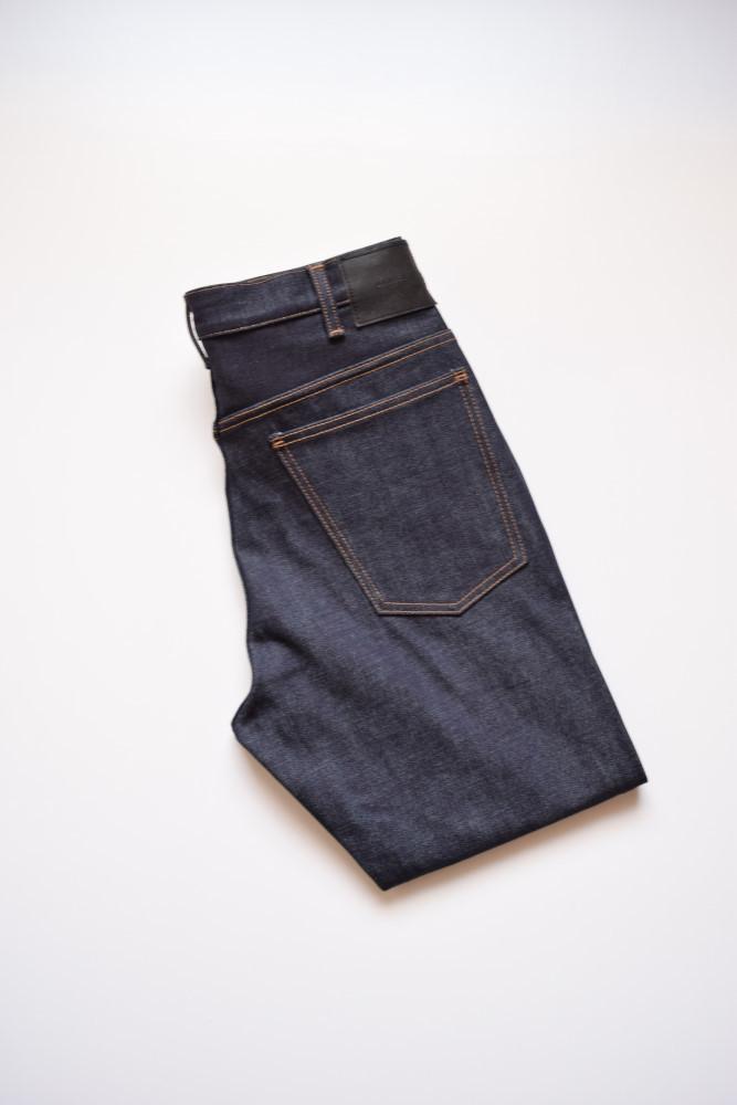 画像1: UNUSED (アンユーズド) 12oz rigid denim five pockets pants UW0300 [indigo]  (1)