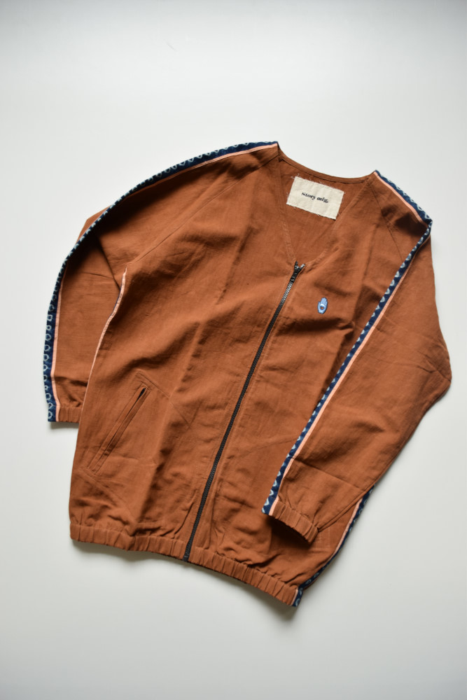 画像1: 【SALE】STORY mfg / Pacer Jacket [Bark Brown] (1)