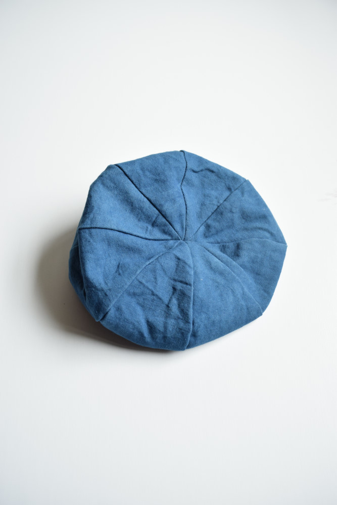 画像1: STORY mfg / French Hat [Natural Indigo] (1)