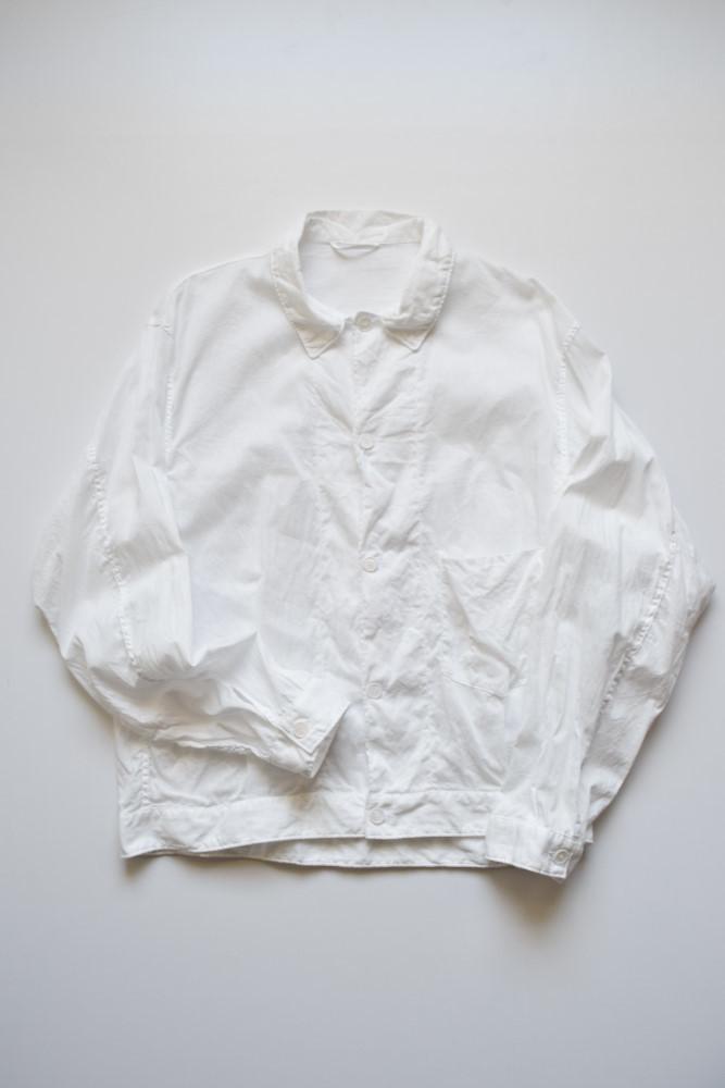 画像1: COMOLI (コモリ) ベタシャン ブルゾン [WHITE] (1)