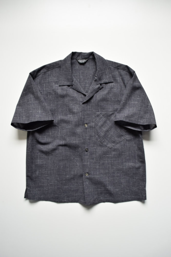 画像1: UNUSED (アンユーズド) short sleeve shirt / US1584 [grayish navy]  (1)