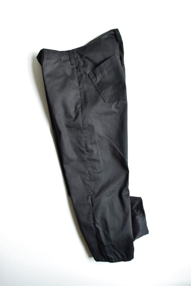 画像1: bukht (ブフト) NEW BIG PANTS - KATSURAGI FAB - [BLACK] (1)