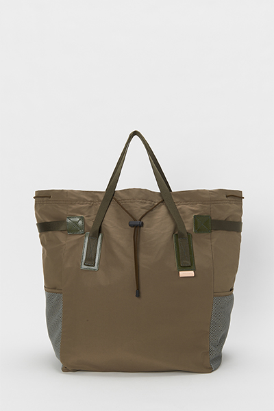 画像1: Hender Scheme (エンダースキーマ) functional tote bag [khaki olive] (1)