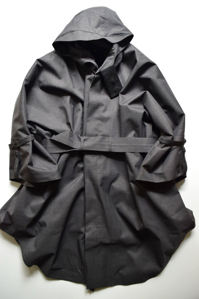 画像1: Norwegian Rain (ノルウェイジャンレイン) Raincho - Unisex - [Mixed Charcoal] (1)