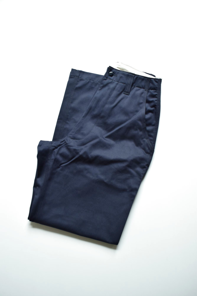 画像1: E.TAUTZ / CORE FIELD TROUSERS [NAVY] (1)