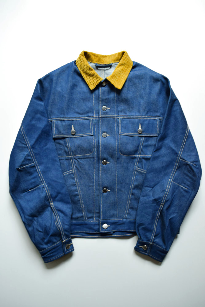 画像1: E.TAUTZ / DENIM JACKET [INDIGO DENIM] (1)