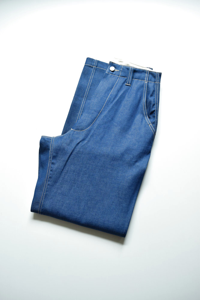 画像1: E.TAUTZ / CORE FIELD TROUSERS [INDIGO DENIM] (1)